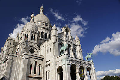 Photograph - Sacre Coeur Paris by Gary Eason