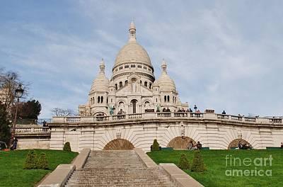 Photograph - Sacre Coeur Paris by David Fowler