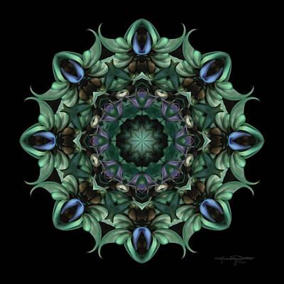 Sacred Aspects - Divine Feminine Art Print by Karen Casey-Smith
