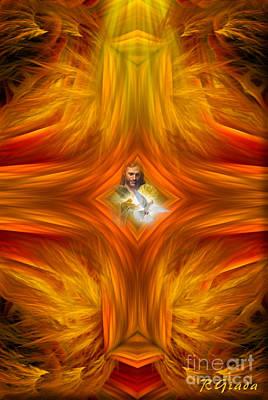 Sacred Cross Art Print
