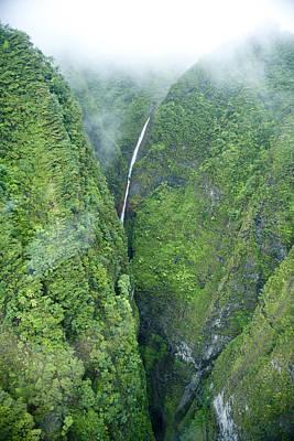 Abundant Photograph - Sacred Falls - Hawaii by Sean Davey