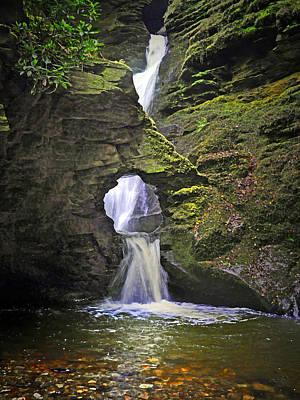 Digital Art - Sacred Falls by Vicki Lea Eggen