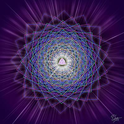 Digital Art - Sacred Geometry 145 by Endre Balogh