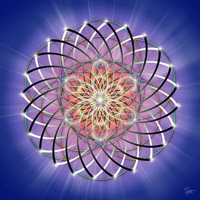 Digital Art - Sacred Geometry 148 by Endre Balogh