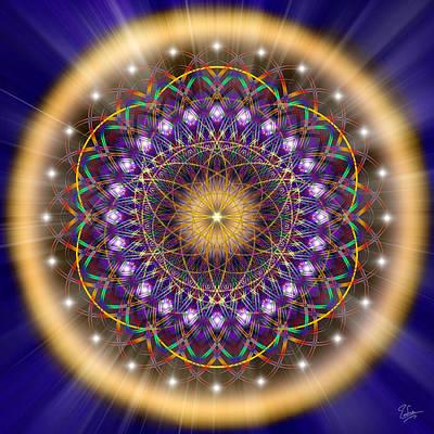 Digital Art - Sacred Geometry 150 by Endre Balogh