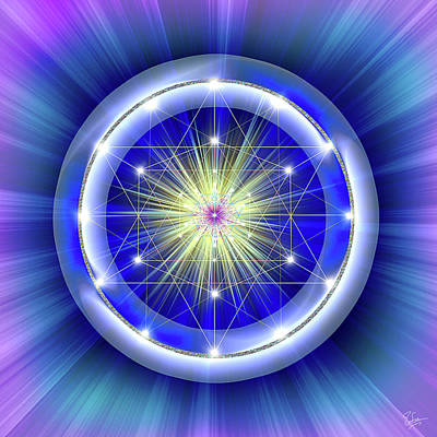 Digital Art - Sacred Geometry 31 by Endre Balogh