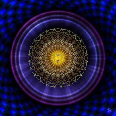 Digital Art - Sacred Geometry 387 by Endre Balogh