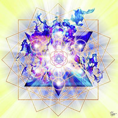 Digital Art - Sacred Geometry 48 by Endre Balogh
