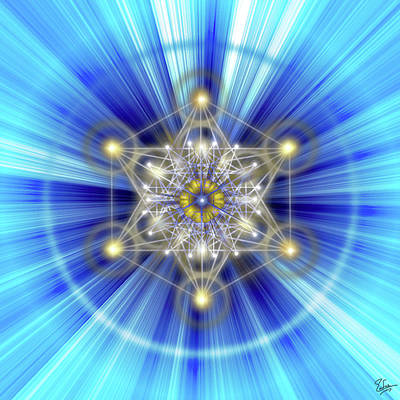 Digital Art - Sacred Geometry 51 by Endre Balogh