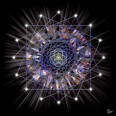 Digital Art - Sacred Geometry 55 by Endre Balogh