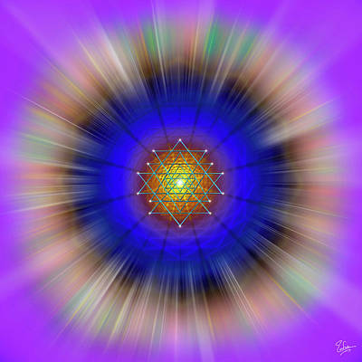 Digital Art - Sacred Geometry 60 by Endre Balogh