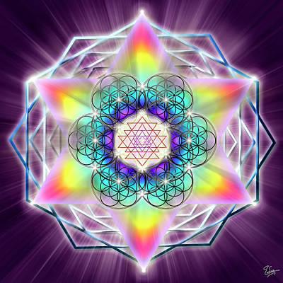 Digital Art - Sacred Geometry 65 by Endre Balogh