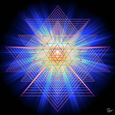 Digital Art - Sacred Geometry 88 by Endre Balogh