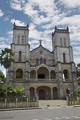 Tower Of David Photograph - Sacred Heart Cathedral, Suva, Viti by David Wall