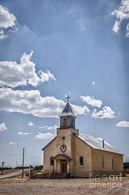 Photograph - Sacred Heart Church by Terry Rowe