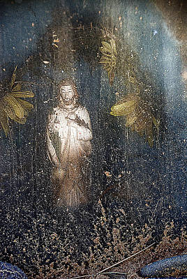 Sacred Heart Of Jesus Las Nutrias San Ysidro Church Cemetery New Mexico 2012 Original by John Hanou