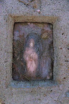 Sacred Heart Of Jesus Veguita Memorial Cemetery Jarales New Mexico 2012 Original by John Hanou