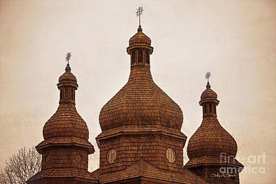 Photograph - Sacred Heart Ukrainian by Sally Simon