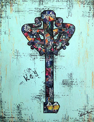 Painting - Sacred Key by Kristie Mercer