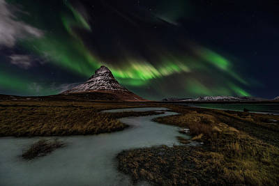 Northern Wall Art - Photograph - Sacred Kirkjufell by Javier De La
