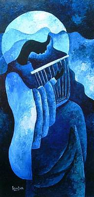 Haitian Painting - Sacred Melody by Patricia Brintle