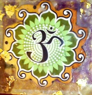 Painting - Sacred Om by MaryAnne Ardito