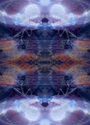 Photograph - Sacred Purple Inversions by Deprise Brescia