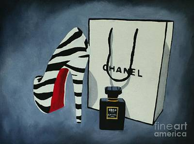 Chanel Wall Art - Painting - Sacred by My Inspiration