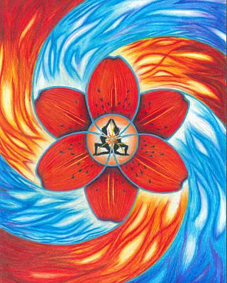 Painting - Sacred Sacral by Joshua Cramer