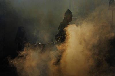 Photograph - Sacred Smoke by Scott Burdick