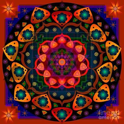 Digital Art - Sacred Space 11.14 by Kathryn Strick