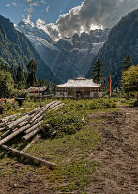 Tibetan Buddhism Photograph - Sacred Trail Head by James Wheeler