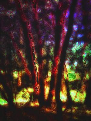 Holy Digital Art - Sacred Trees - The Gathering  by Mimulux patricia no No