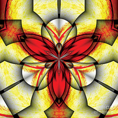 Art Nouveau. Visionary Digital Art - Sacred Trinity by Galactic  Mantra