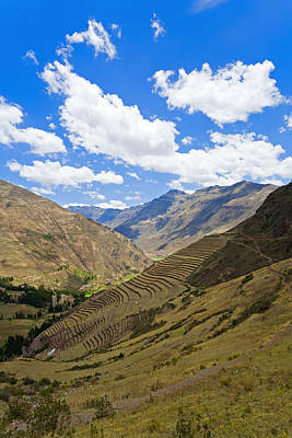 Photograph - Sacred Valley by Alexey Stiop