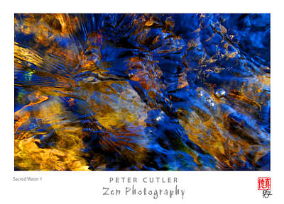 Photograph - Sacred Water 1 by Peter Cutler