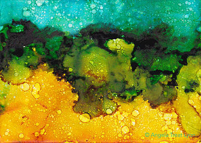 Painting - Sacred Wetlands by Angela Treat Lyon