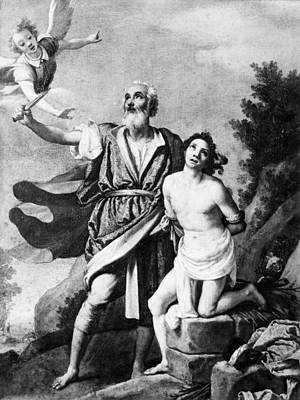 Painting - Sacrifice Of Isaac by Granger