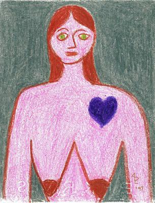 Painting - Sad by Anita Dale Livaditis