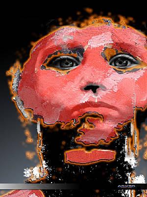 Digital Art - Sad Eyes by A Dx