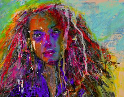 Mixed Media - Sada by Jim Vance