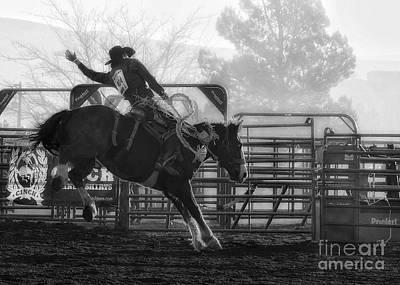 Steampunk - Saddle Bronc Riding by Priscilla Burgers