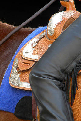Jerry Sodorff Royalty-Free and Rights-Managed Images - Saddle Leg 3623 by Jerry Sodorff