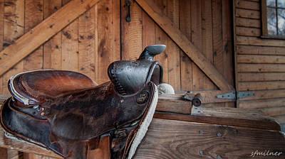 Saddle Rest Art Print by Steven Milner
