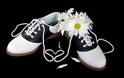 Saddle Shoes Art Print