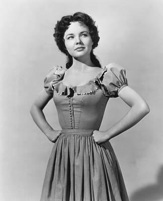 1950 Movies Photograph - Saddle Tramp, Wanda Hendrix, 1950 by Everett