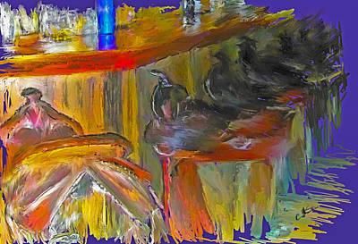 Digital Art - Saddle Up by Dale Stillman