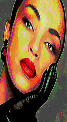 Rhythm And Blues Painting - Sade 4 Phone Case by  Fli Art