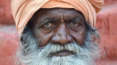 Photograph - Sadhu 14 by Kim Bemis