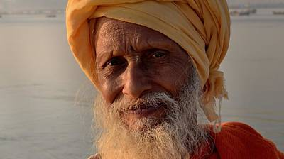 Photograph - Sadhu 9 - Kumbhla Mela - Allahabad India by Kim Bemis